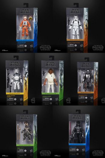 Star Wars The Black Series 2020 Wave 26 Full Set of 7 figures - Pre-Order